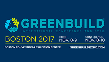 Greenbuild Int. Conference & Expo '17